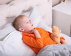 Dítě se zánětem dýchacích cest