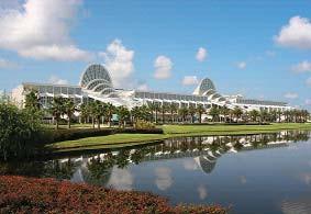 Orange County Convention Center, Orlando – miesto konania.