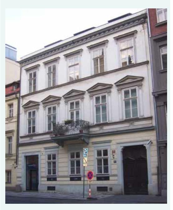 Široká (dnes Jungmannova) 29/19 – bydliště rodiny (1862–1876)