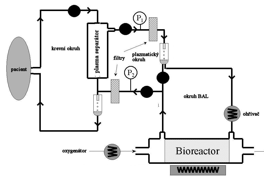 Schéma zapojení systému BAL. Fig. 1. The BAL system integration scheme.