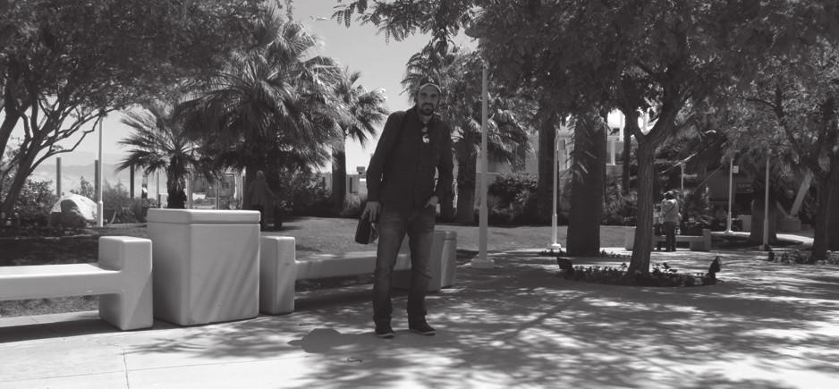 Příletový prostor v Palm Springs
