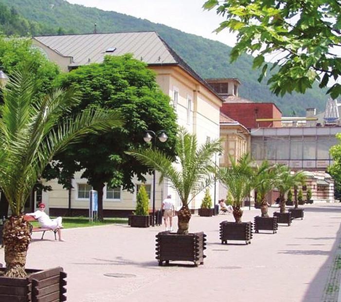Trenčianské Teplice – kolonáda.