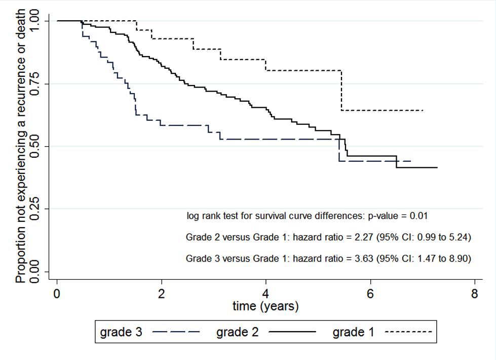 Tumour grade as a prognostic factor in breast cancer.