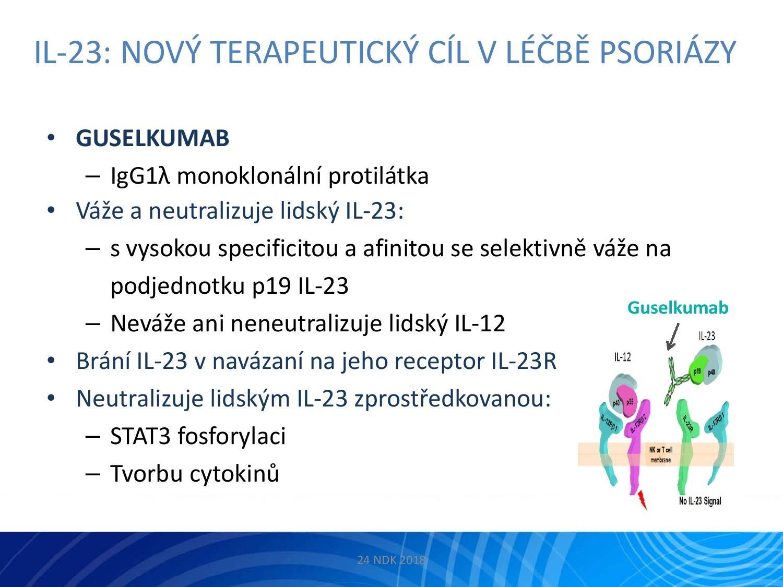 IL-23: Nový terapeutický cíl v léčbě psoriázy - 14