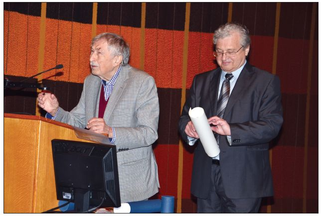 Udělení čestného členství ČSÚCH ČLS JEP prof. MUDr. Rajkovi Dolečkovi, DrSc.