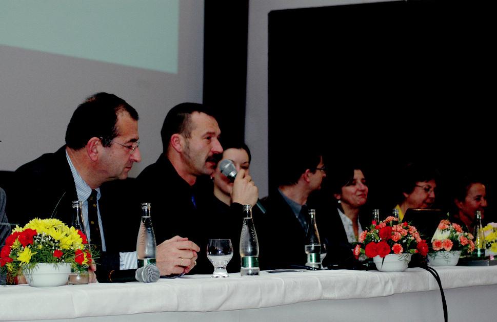 Výbor ČNPS při vyhlašování cen během valné 1. LF UK a VFN, Praha hromady.