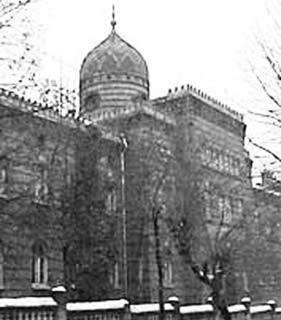 Židovská nemocnice na ulici Rappaporta ve Lvově.