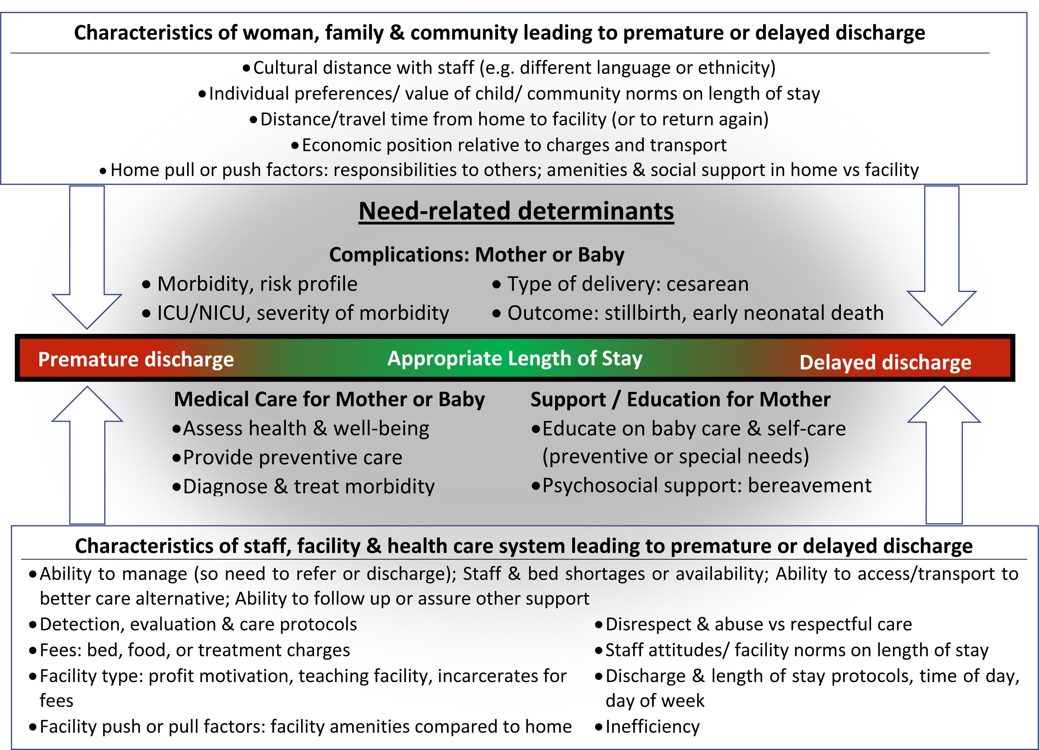 Conceptual framework. ICU, intensive care unit; NICU, neonatal intensive care unit.