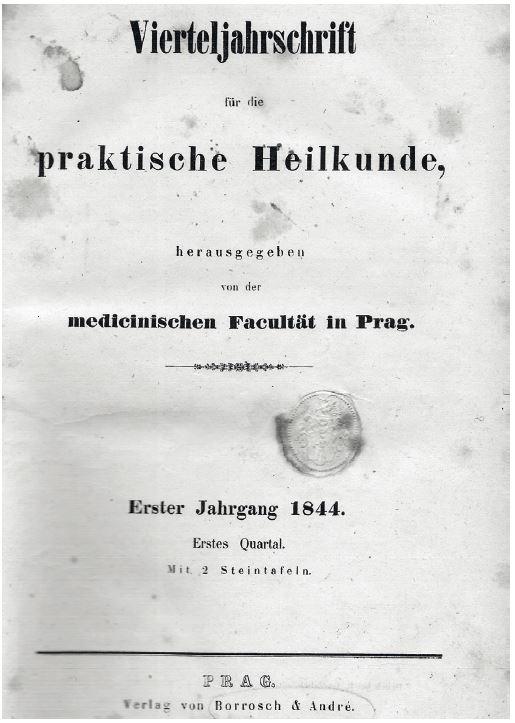 Titulní strana – 1844