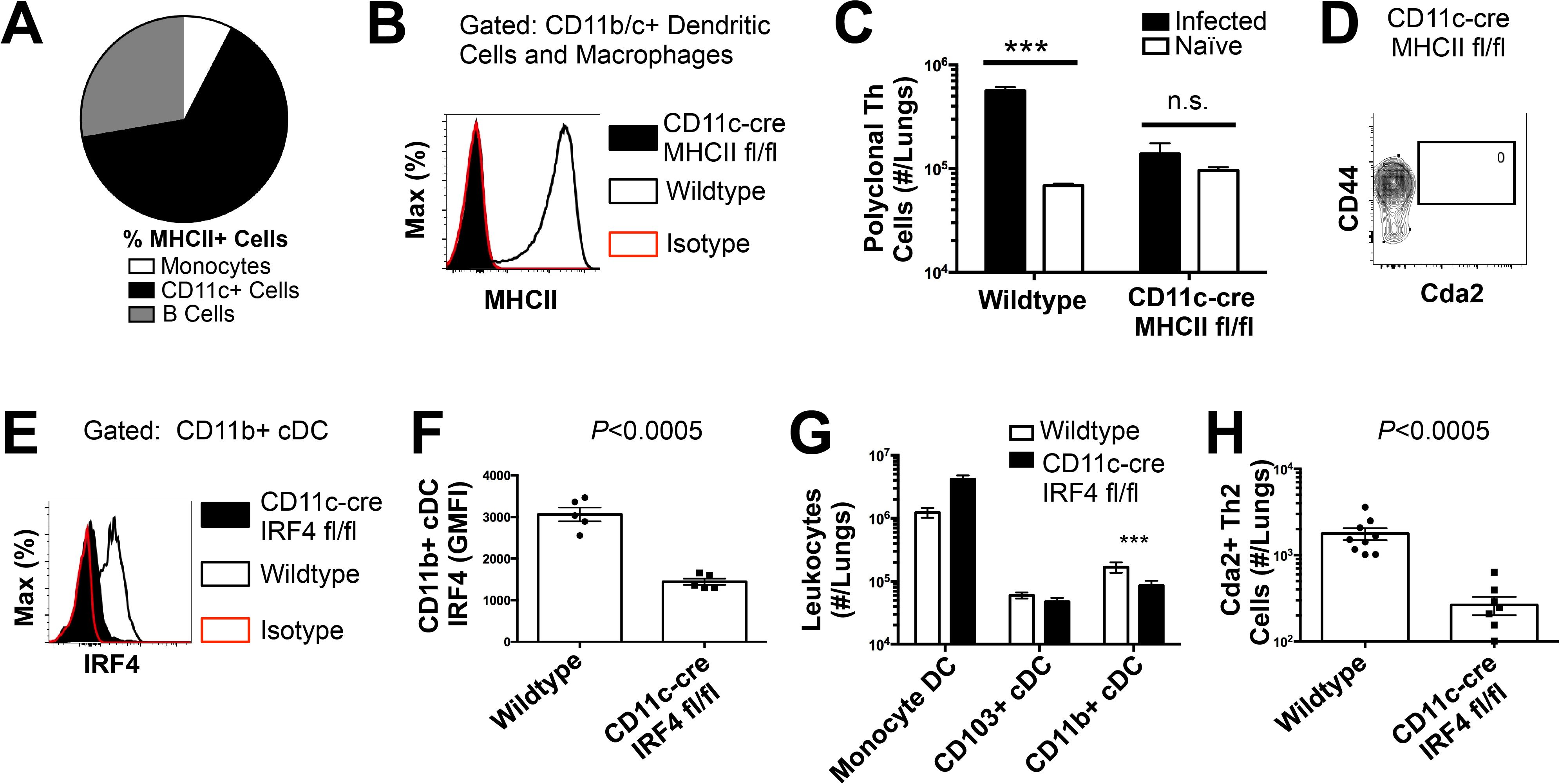 Interferon Regulatory Factor 4-Dependent Conventional Dendritic Cells Coordinate Th2 Cell Induction.