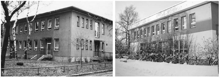 Ústav normální a patologické anatomie ZSF OU před a po rekonstrukci.