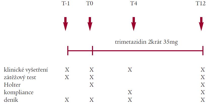 Schéma uspořádání studie TRIADA.