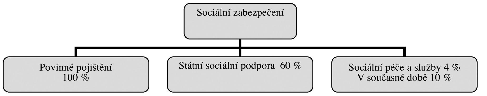 Struktura sociálního zabezpečení v České republice
