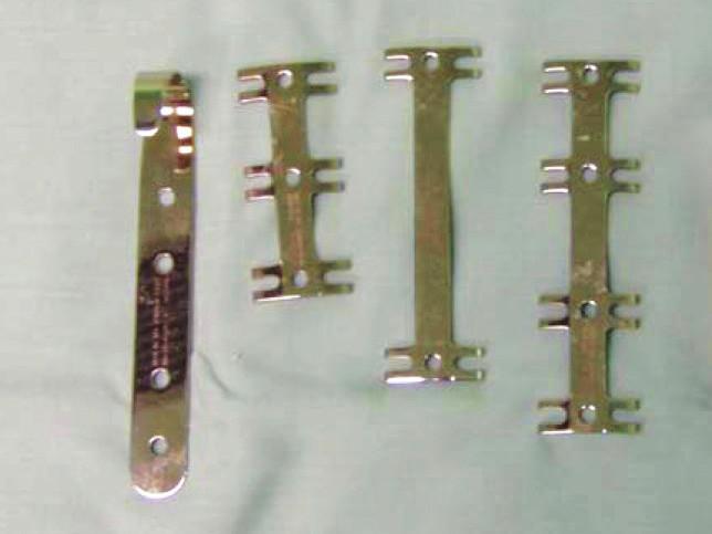 Instrumentárium MEDIN Fig. 9: MEDIN plates