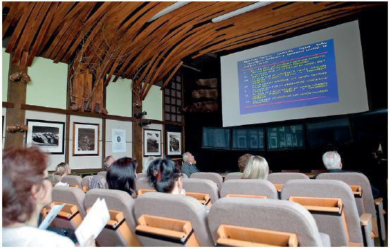 Druhá časť VII. medicínsko-literárneho memoriálu Franza Kafku v Informačnom centre Štátnych lesov TANAP-u v Tatranskej Lomnici