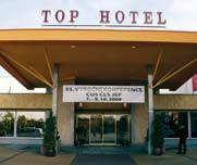 Top Hotel Praha, místo konání 55. výroční konference ČUS