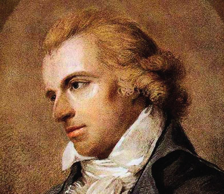Friedrich Schiller; překlad jeho lyriky vydal Purkyně vlastním nákladem
