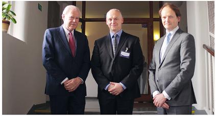 Pozvání k účasti na workshopu přijali významní zahraniční lektoři. Zleva: prof. Gilbert Nolst Trenité, MUDr. Radim Kaňa, Ph.D., Dr. Dirk Jan Menger.
