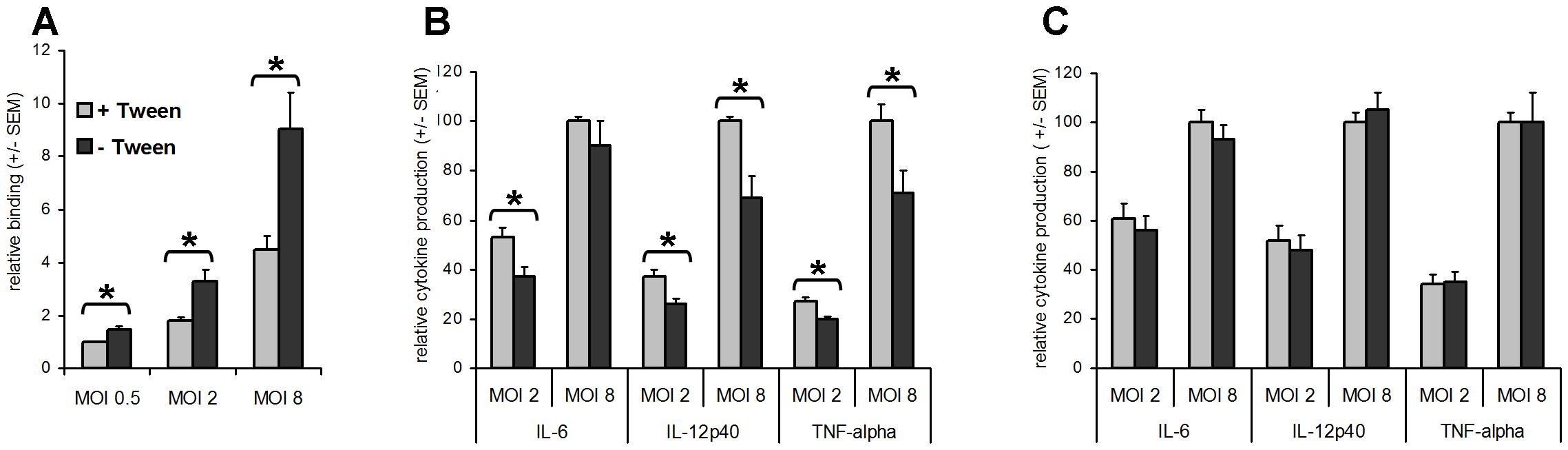 Capsular layer promotes binding to macrophages and inhibits the pro-inflammatory cytokine response.