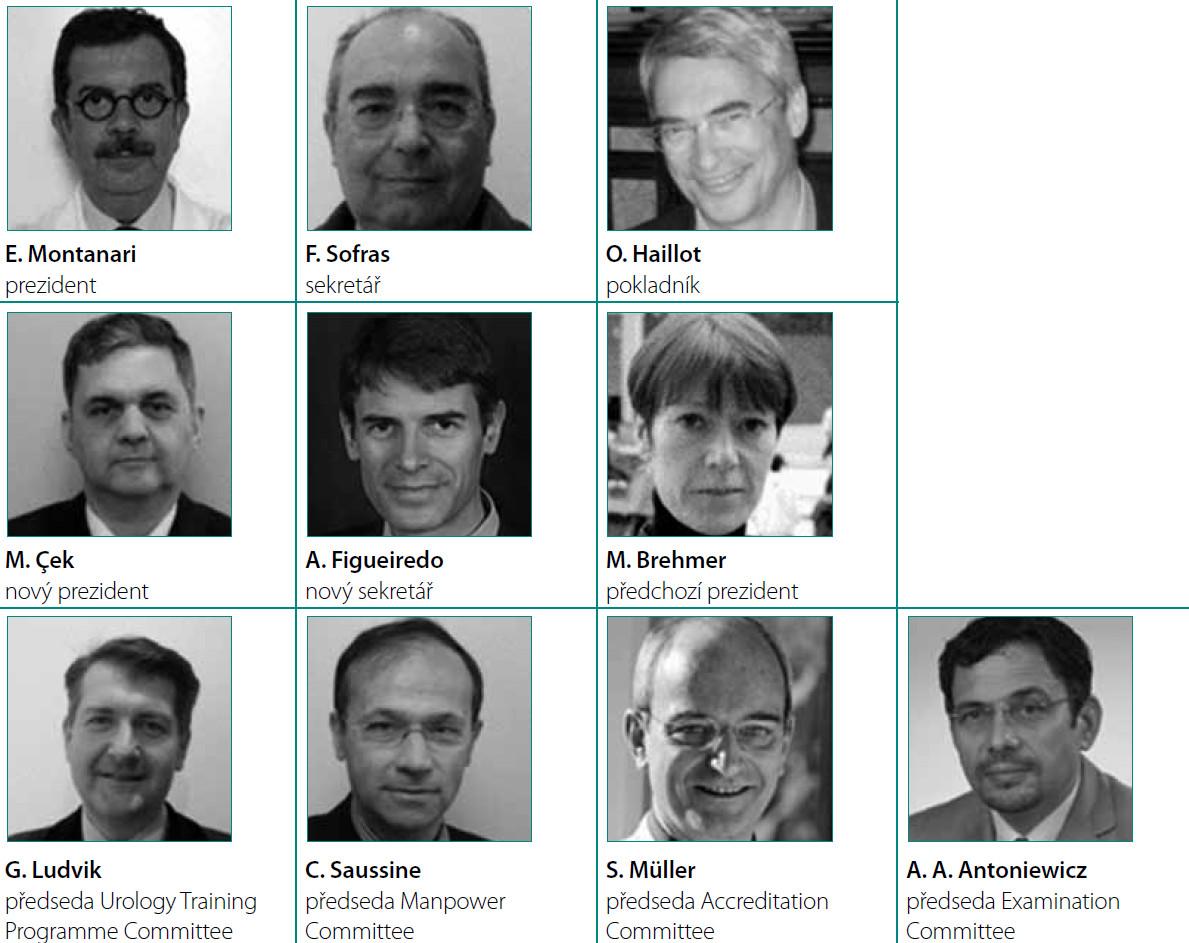 Představitelé EBU v roce 2011 (2)