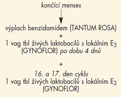 Medikace (n = 94), 2. menstruační cyklus – s léčbou.