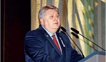 Prezident WONCA prof. Richard Roberts