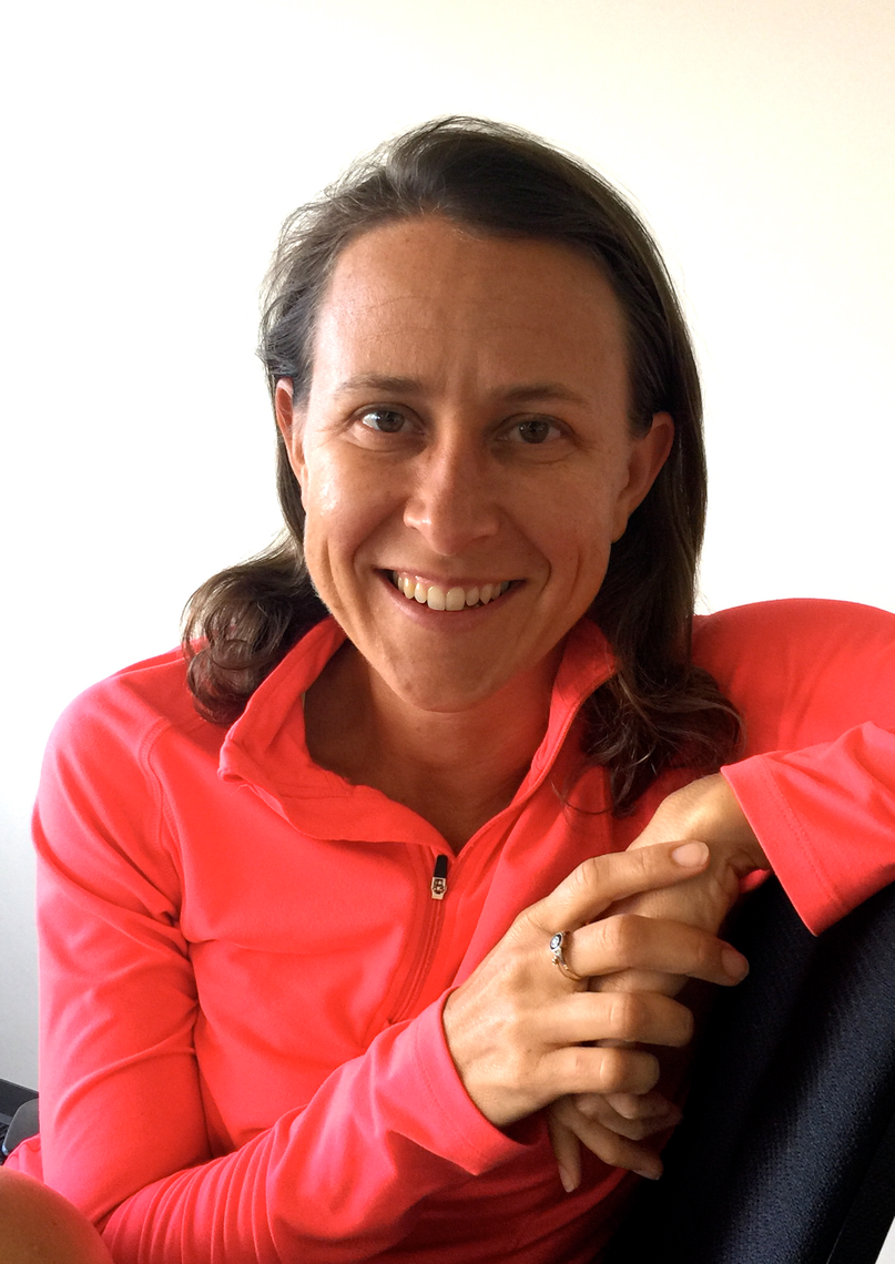 Anne Wojcicki at the 23andMe offices in Mountain View, California, courtesy of 23andme.