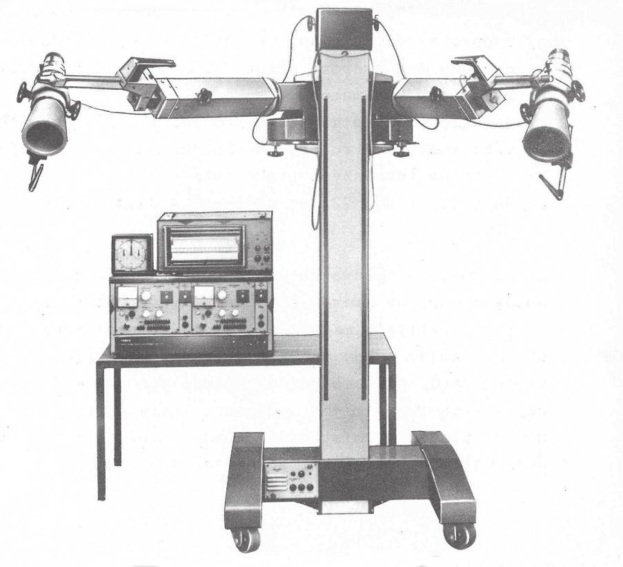 Lékařská souprava NRG 722, výroba VÚPJT