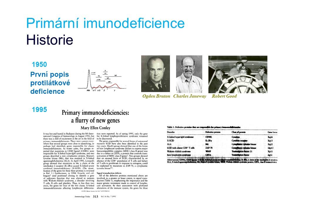 Imunodeficience - 2