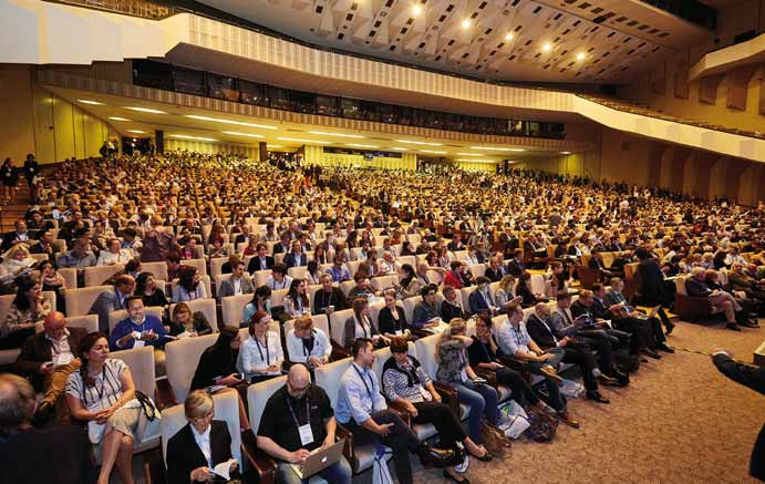 Auditorium European Stroke Organisation Conference.