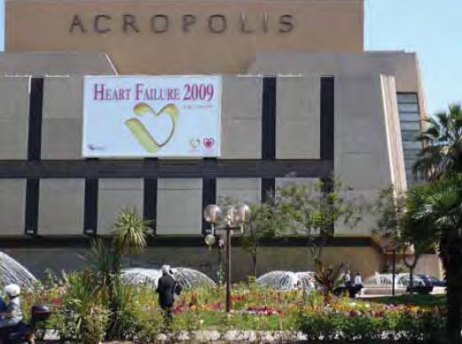 """Místo konání konference """"Heart Failure 2009""""."""
