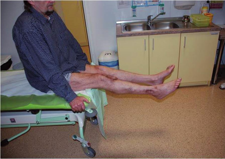 Pacient s plnou zátěží končetiny