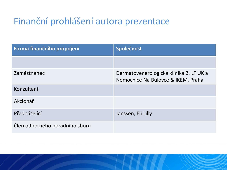 IL-23: Nový terapeutický cíl v léčbě psoriázy - 2