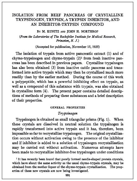 Titulní strana historického článku