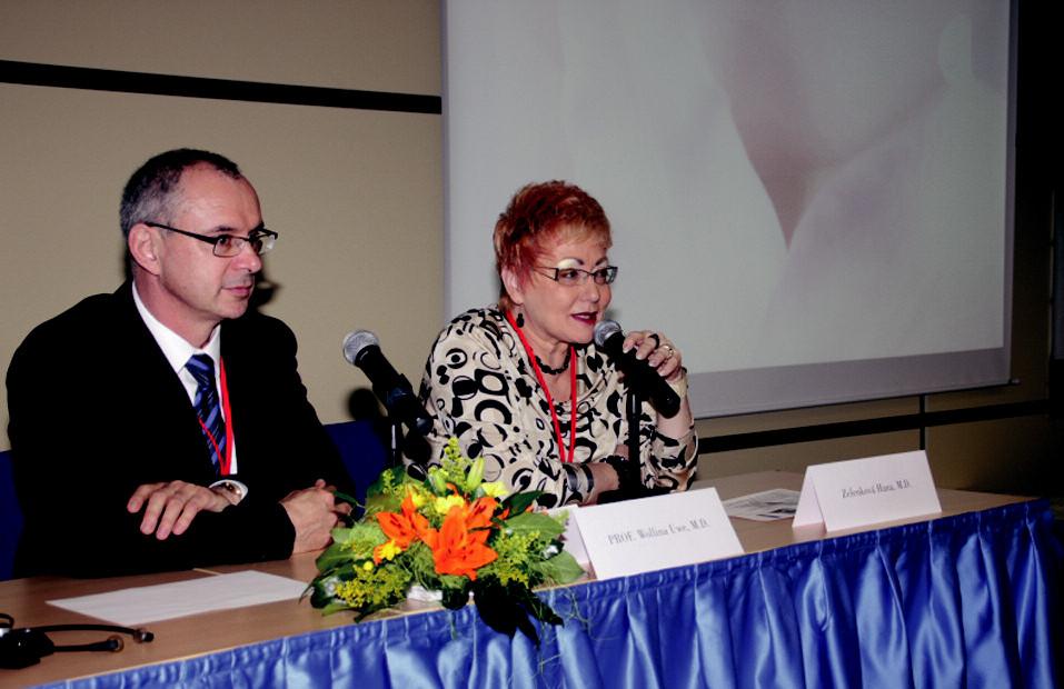 Prof. Wollina a prim. Zelenková.