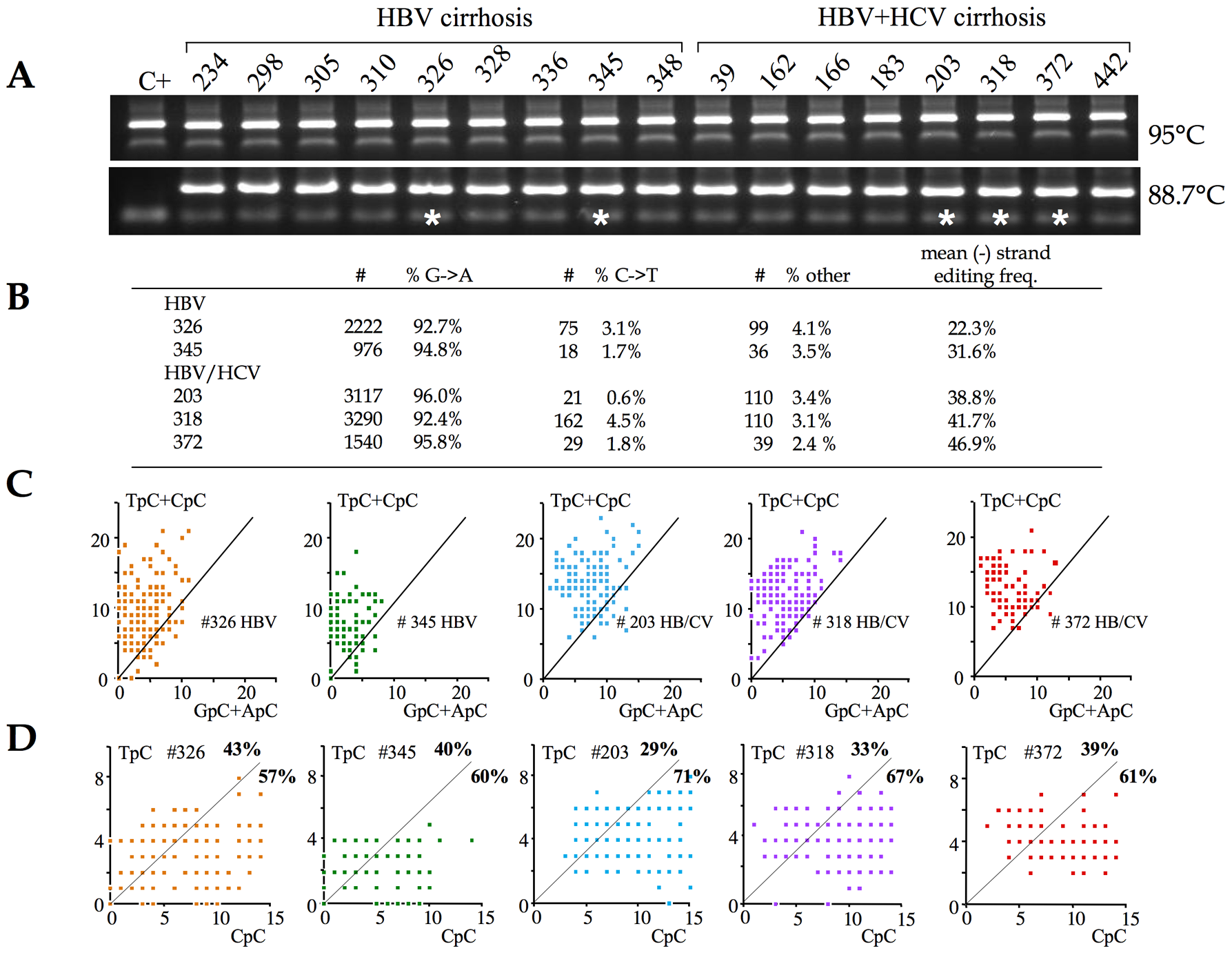 A3 deaminases are the major editors of HBV DNA <i>in vivo</i>.