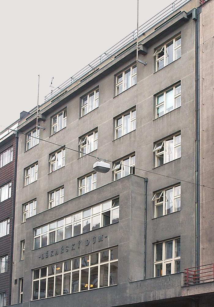 Lékařský dům – sídlo České lékařské společnosti Jana Evangelity Purkyně