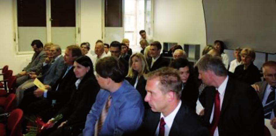 Pohled do přednáškového sálu v nových prostorách VÚS.