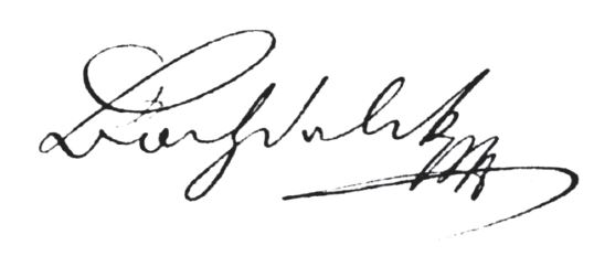 Bochdalkův podpis