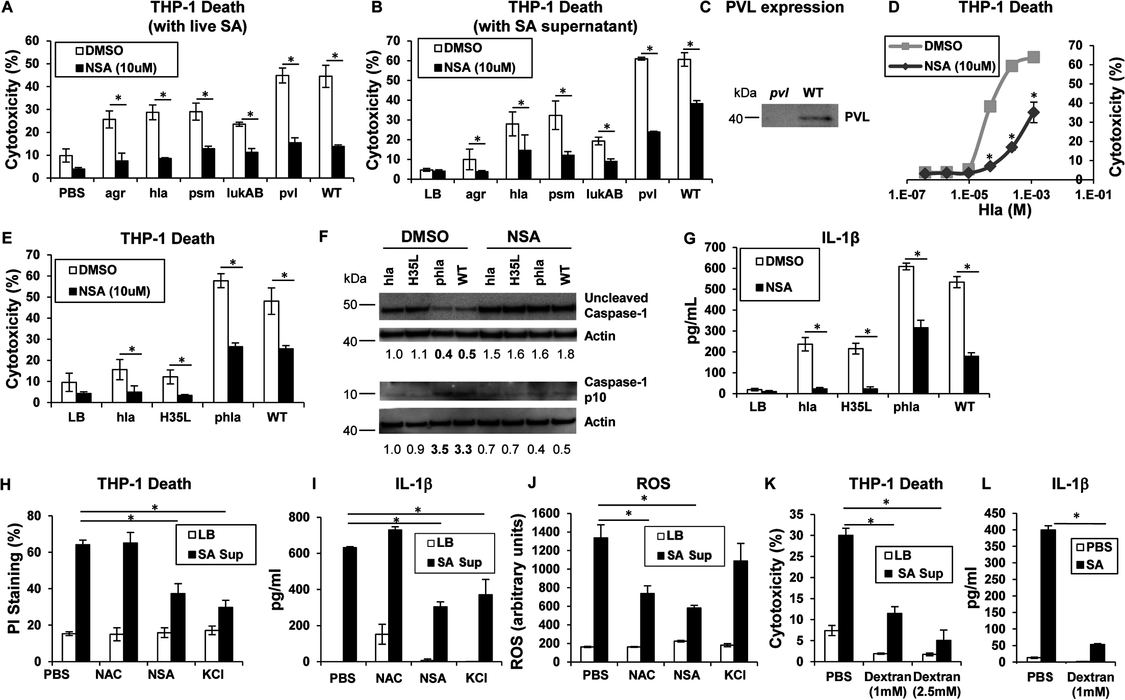 Necroptosis and inflammasome activation share signaling components