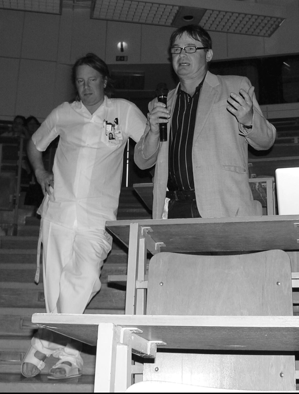 Diskuze – prof. MUDr. Pavel Eliáš, CSc. (vpravo)