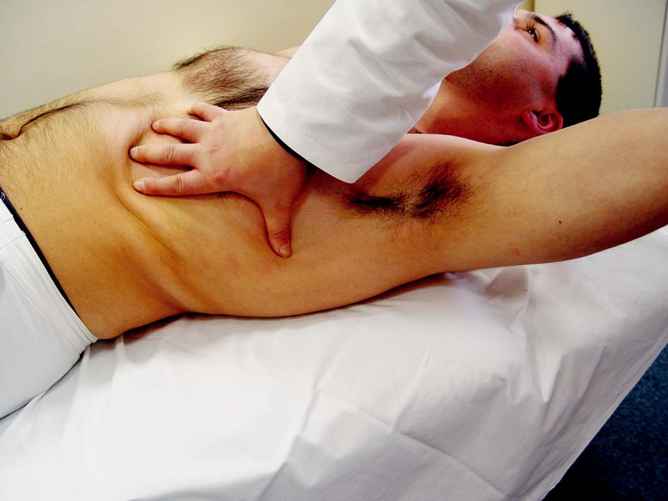 Uvolnění hrudníku.