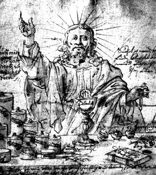 Kristus jako lékárník