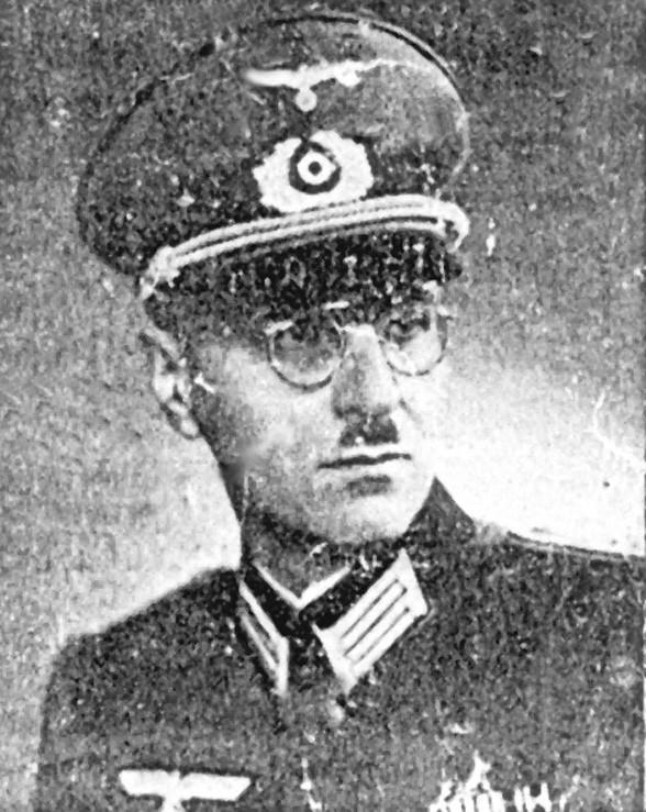 Fotografie Cornelia Veitse za II. světové války.