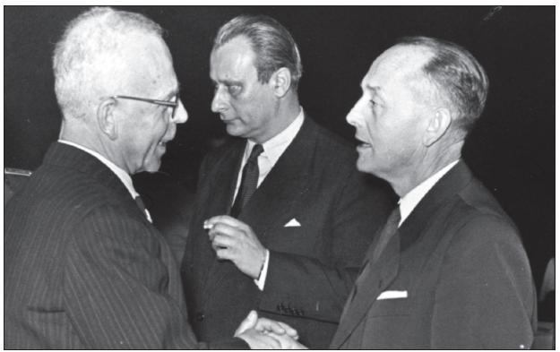 Kamil Henner, Ivan Lesný, Miroslav Šercl.