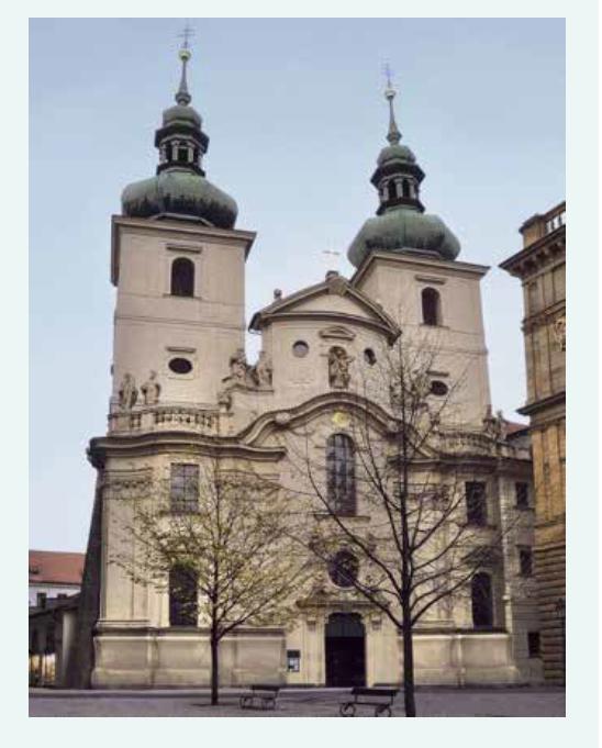 Kostel sv. Havla – místo Ottova křtu (1849)