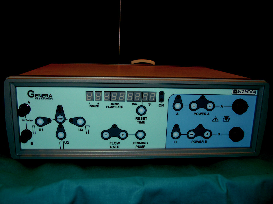 Fig. 1. Genera<sup>®</sup> Ultrasonic console
