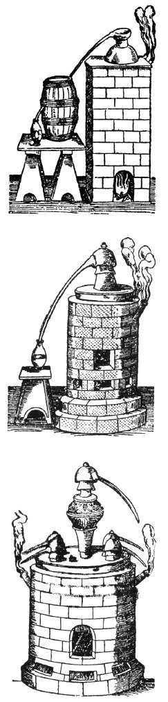 Destilační přístroje – pícky