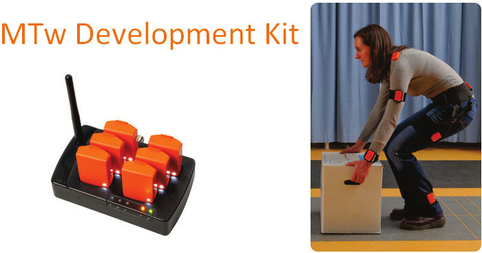 Fig. 4: MTw Development Kit [20]