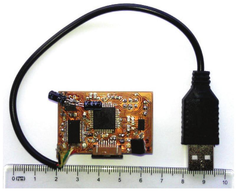 Fig. 5: Prototype of wearable sensor